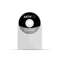 50 dvd Sérigraphie noir vernis pochette plastic