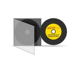 100 CD Look Vinyle couleurs vernis Boitier Slim CD
