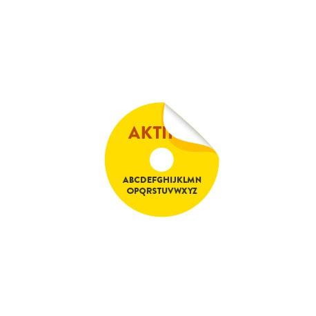 75 Étiquettes couleurs cd dvd