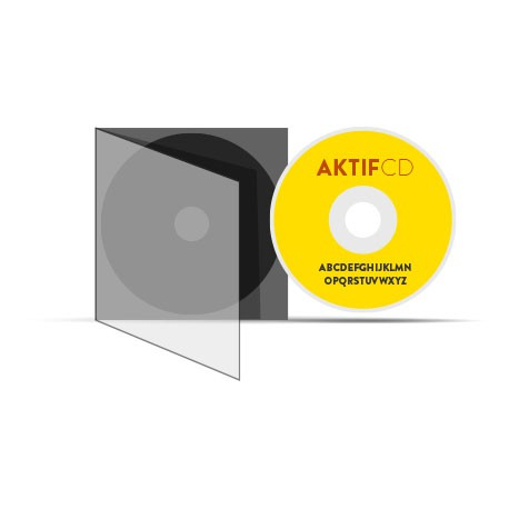 Pack cd-boitier slim cd 500 CD Livraison Offerte