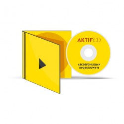 25 CD serigraphie couleurs vernis Boitier Cristal livret Jaquette