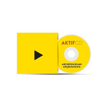 Pack pochette carton 5000 CD Livraison Offerte