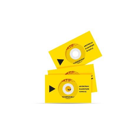 Duplication 100 CD Carte De Visite 40 Mo