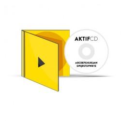 50 CD Sérigraphie Texte Boitier Cristal livret Jaquette