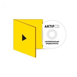100 CD Sérigraphie Texte Boitier digisleeve 2 volets