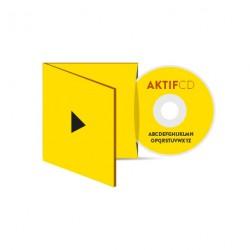 250 CD Sérigraphie couleurs vernis Boitier Digisleeve volets 1 CD