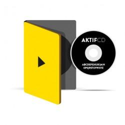 25 dvd Sérigraphie noir vernis Boitier dvd jaquette 4/0