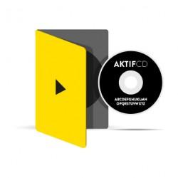 50 dvd Sérigraphie noir vernis Boitier Slim dvd jaquette 4/0