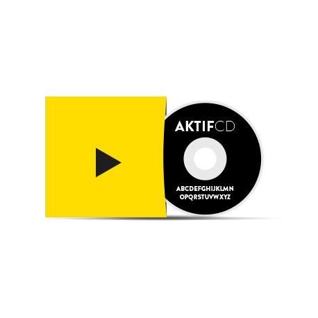 100 dvd Sérigraphie noir vernis Pochette Carton Couleurs