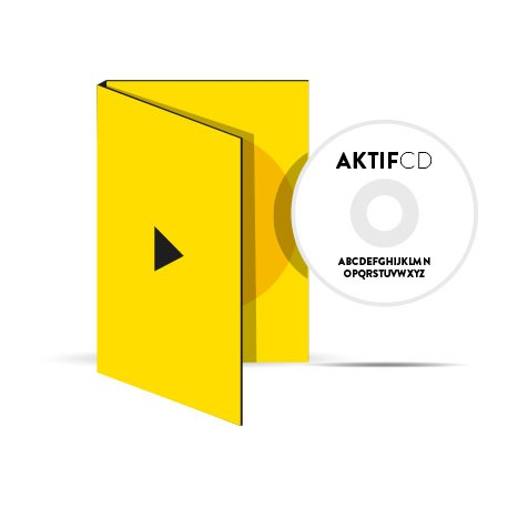 25 dvd Sérigraphie Texte Boitier digipack 2 volets