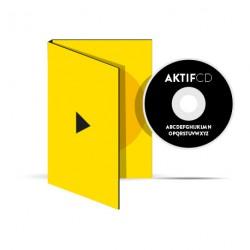 300 dvd Sérigraphie Noir vernis Boitier digipack 2 volets