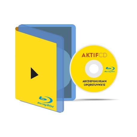 50 Blu-Ray Boitier Blu-Ray jaquette