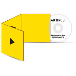 500 cd Sérigraphie Texte Boitier digisleeve 3 volets