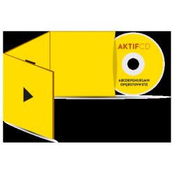 450 cd Sérigraphie couleur vernis Boitier digisleeve 3 volets