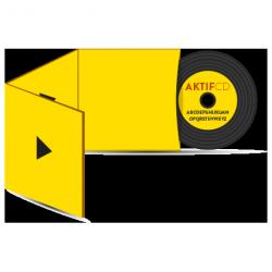 500 cd Sérigraphie look vinyle  Boitier digisleeve 3 volets
