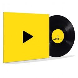 Vinyle 33 Tours 12 Pouces dos carré 3mm
