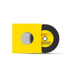 Pochette carton CD type vinyle