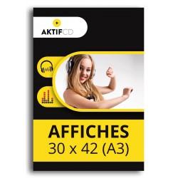 AFFICHE 30x42 cm (A3)