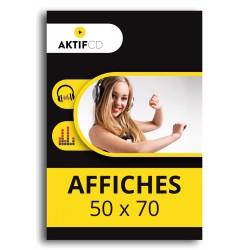AFFICHE 50 x 70 cm