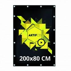 Bâche 200x80 cm