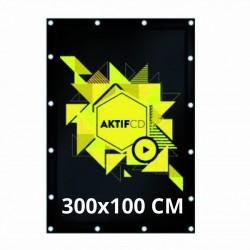 Bâche 300x100 cm